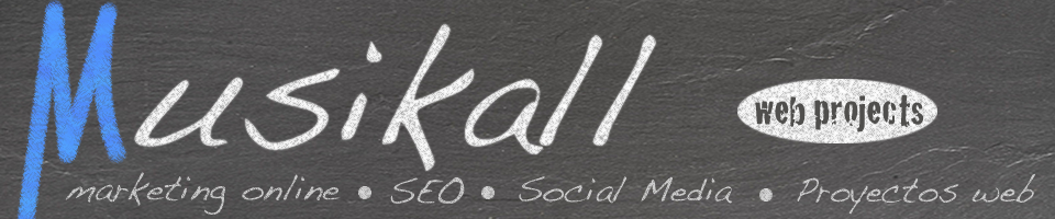 logo de Musikall Proyectos Web SEO y Marketing online Social Media
